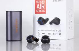 Обзор TWS <b>наушников Creative Outlier Air</b> Sports | Наушники ...