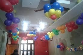 easy balloon decorations easy balloon decoration for birthday