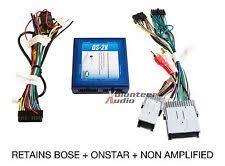 gmc wiring harness gm car stereo radio installation install wiring harness interface bose onstar fits gmc