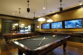 Wooden Games Room Furniture Classical Wooden Pool Table Design Ideas With Grey 19