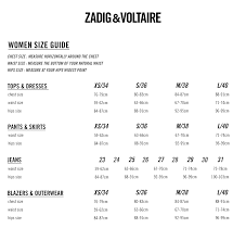 Zadig And Voltaire Size Chart Prune Jacq Pants Zadig Voltaire