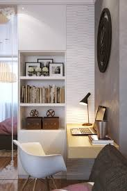 every room feels a bit bigger with plenty of light this bedroom features two hanging bedroom office design ideas interior small