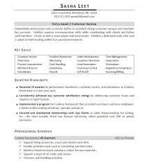 Best Of Restaurant Resume Objectives B4 Online Com