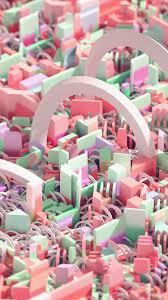 vw86-cute-art-abstract-3d-pattern ...