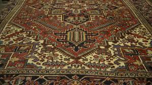 image of antique heriz rug for in minneapolis