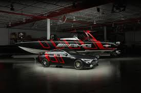 The most powerful amg v8 series engine of all time, the most expressive design, the most elaborate aerodynamics, the most intelligent material mix, the most distinctive driving dynamics: Mercedes Benz Amg And Cigarette Racing Unveil A Stunning Speed Boat Architectural Digest