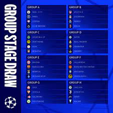 """UEFA Champions League on Twitter: """"All set for the 2021/22 season! 🤩 Which Champions  League group are you most excited for? #UCLdraw   #"""