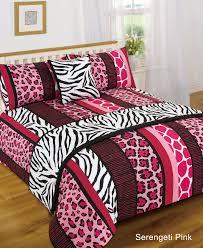 pink zebra leopard print bed in a bag set best 2017