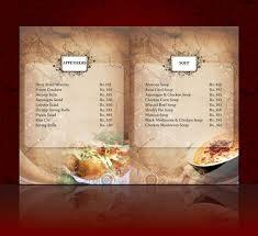 Menu Card Template Menu Cards_13 Restaurant Menu Card Menu Restaurant