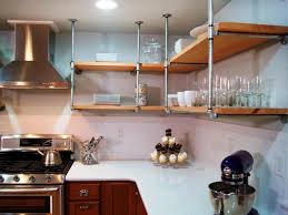 13 Best DIY Budget Kitchen Projects. Pipe ShelvingCeiling ...