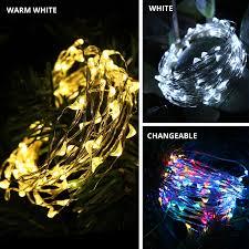 50/<b>100</b>/200 LED <b>Solar Light</b> Waterproof Fairy Garland Lights String ...