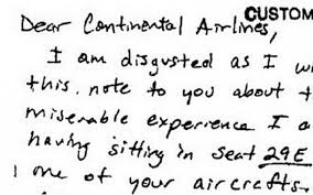 the funniest travel complaint letters of all time