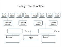 Genealogy Family Tree Forms 18 Family Tree Templates Free Ppt Excel Word Formats