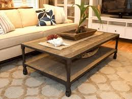 Living Room, Small Round Coffee Table Ottoman As Sectional Sofa Pull Out  Bed Striped Blackout