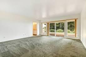 carpet floor bedroom. Simple Floor Stock Photo  View Of Empty Master Bedroom With Olive Carpet Floor And  Walkout Deck Bathroom Through Open Door And Carpet Floor Bedroom Y