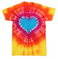 Tie Dye Patterns Heart