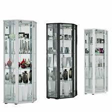 ikea detolf glass door display cabinet