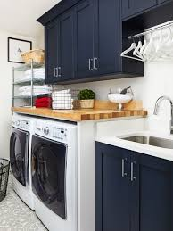 interior home design kitchen. Dedicated Laundry Room - Transitional Single-wall Gray Floor Idea In DC Interior Home Design Kitchen