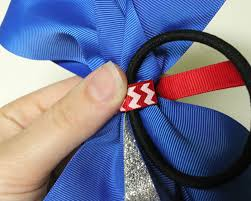 now you have a cute cheer bow thanks for reading