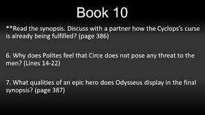 the odyssey a reading guide book why would the author 5 book