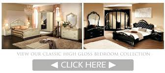 I Italian High Gloss Bedroom Furniture Classic  Uk