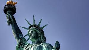 statue of liberty on new york city wallpaper m 11339 wallpaper