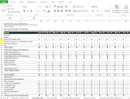 Profit Loss Template Excel Monthly Profit Loss Statement Template And Free Synonym