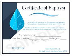 Baptism Certificate Baptism Certificates Baptismalrobes Net
