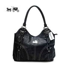 Coach In Embossed Medium Black Satchels Outlet Sale VIP Shop