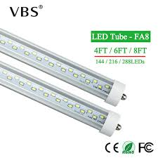 Us 232 4 38 Off 25pcs Fa8 Led Tube Lamp 28w 36w 48w 4ft 6ft 8ft Led Bulbs Ac85v 265v Super Bright Led Fluorescent Light Bombillas Led Tube Light In