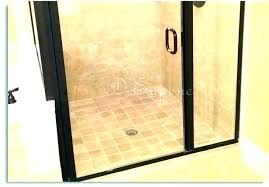 remove water stains from glass hard water stains on shower doors how to remove hard water