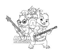 Alvin E I Chipmunks Da Colorare Disegnidacolorareit