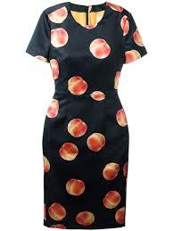 Paul Smith Peach Shift Dress Women Clothing 11729813