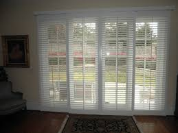 furniture fascinating shutter blinds for patio doors 31 interior white stained wooden sliding glass door built