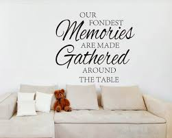 Quotes wall stickers Our Fondest Memories Quotes Wall Art Stickers 15