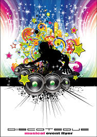 Art Event Flyer Set Of Musical Event Flyer Cover Vector Free Vector In