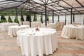 puddle drop tablecloth round table