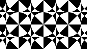 Black And White Pattern Tile Inspiration Design Patterns Tile Patterns Geometric Patterns Black And