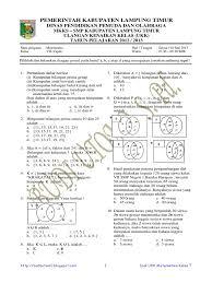 Berikut ini merupakan soal (disertai pembahasannya) ulangan umum matematika kelas x semester genap tahun ajaran 2018/2019 smkn 3 materi yang diujikan adalah: Soal Dan Pembahasan Ukk Matematika Smp Kelas 7 Tahun 2013