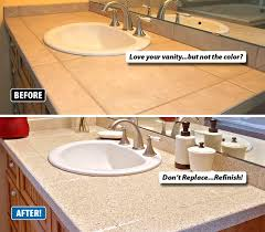 endearing 51 best countertop refinishing images on kitchen of how to refinish bathroom countertops