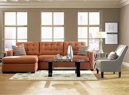 Orange Sofa Living Room Orange Sofa Interior Design Interior Design
