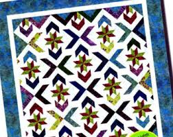 DROP DIAMONDS A Strip Club Quilt Pattern for 2-1/2 & WINTER SOLSTICE Quilt Pattern For 2-1/2