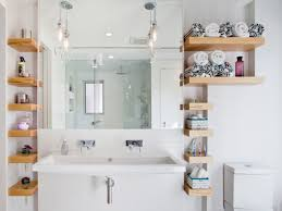 This idea is perfect for bachelors who live in condominiums, it brings out the man in them. 15 Bathroom Shelf Ideas For A More Organized Home