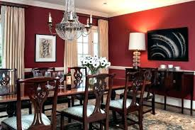 Delightful Red Dining Room Decorating Ideas Walls Wall Decor Best Magnificent Red Dining Rooms Collection