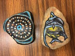 an example of painted rocks found in state parks across texas photo texas parks