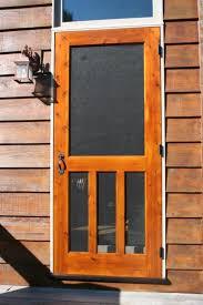 homemade screen door designs diy wooden