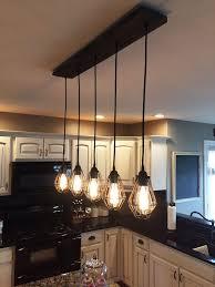 rustic interior lighting. Rustic Kitchen Lighting Pertaining To Island Amazing Examples Of Copper Pendant Decorations 17 Interior