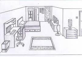 bedroom 3d drawing. bedroom sketch 10 by cornerart 3d drawing a