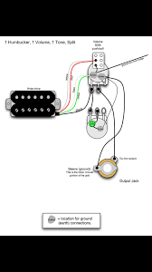 newby wiring up a tv jones (model 10 style) with a 3way rotary Split Coil Wiring Diagram here's the greasebucket tone pot humbucker coil split wiring diagram