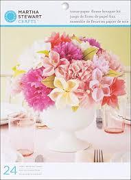 Tissue Paper Flower Centerpieces Martha Stewart Crafts Vintage Girl Tissue Paper Flowers